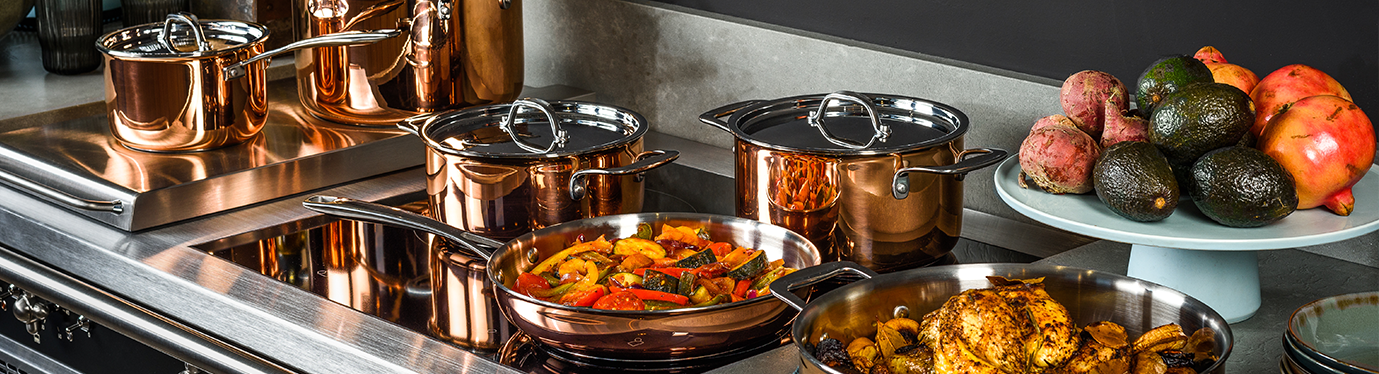 DUCQ copper cookware